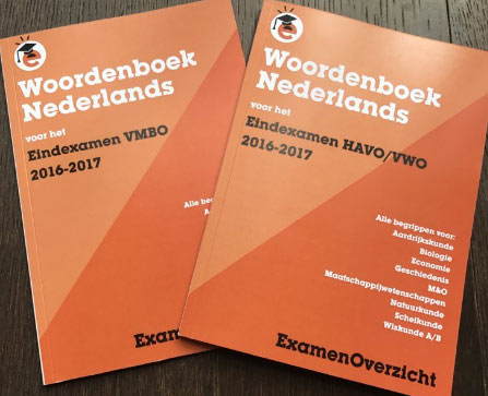twee Woordenboeken Nederlands 2016-2017